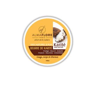ALMAFLORE Beurre de Karité Pure 100% NATUREL, 100GR