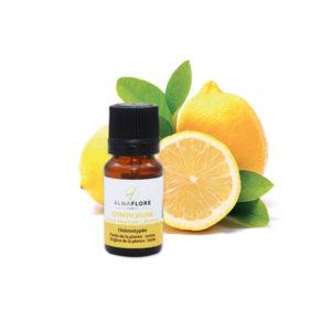 ALMAFLORE Huile Essentielle de Citron jaune BIO, 10ML