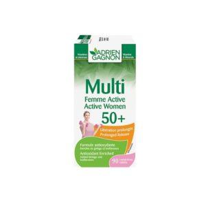 MULTI FEMME ACTIVE 50+, 30 comprimés