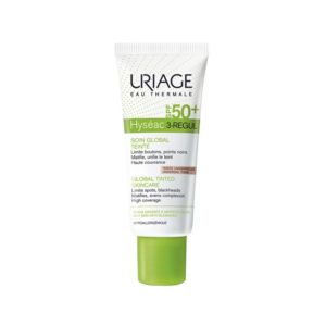 URIAGE HYSEAC 3 REGUL SOIN GLOBAL TEINTE UNIVERSELLE SPF50 PEAUX GRASSES A IMPERFECTIONS 40ML