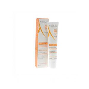 A-Derma Protect Fluide Très Haute Protection IP50+ Tube 40ml