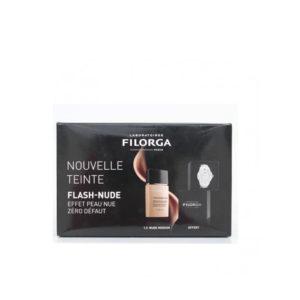 FILORGA COFFRET FLASH-NUDE FLUID TEINT PRO PERFECTION SPF30, (1.5 MEDIUM) 30ml + MONTRE FILORGA OFFERT