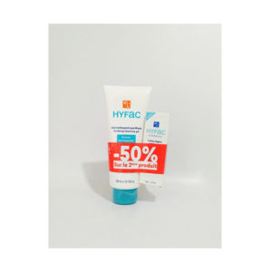 Hyfac gel nettoyant , 300 ml + hyfac crème légère , 40 ml