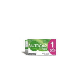 NUTRICAP KERATINE CHEVEUX ET ONGLES, 90 capsules