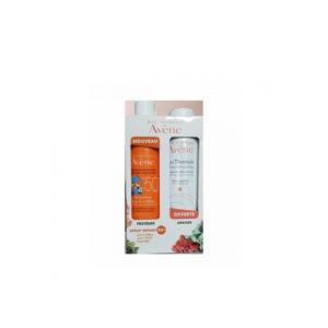 COFFRET AVENE SOLAIRE SPRAY ENFANT HAUTE PROTECTION SPF 50+ 200ML+ EAU THERMALE 150ML OFFERTE
